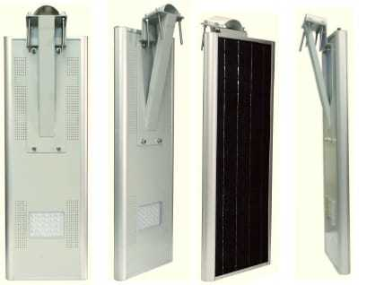 25 Watt Integrated Solar Street Light