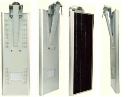 25 Watt Integrated Solar Street Light