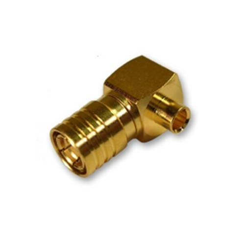 SMB Connector Plug Solder Type For Semi Rigid Cable