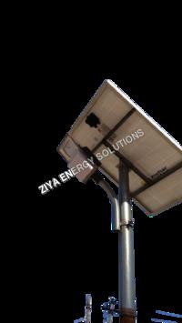 MNRE Bases 12 Watts Solar Street Light System, Panel & Pole