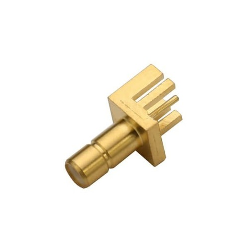 SMB Straight Connector 75 Ohm Female For Edge Mount