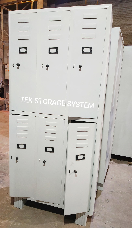 Industrial Worker Locker 6 Door