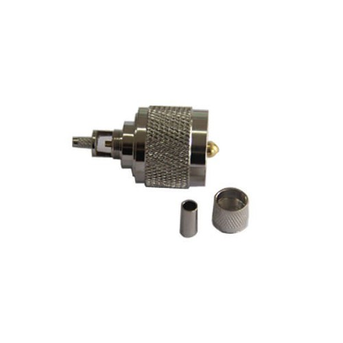UHF Connector Crimp Type PL 259 Male For Cable