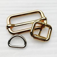 Zinc Alloy Snap Dog Hook Bag Leather D Ring Metal Pin Belt Buckle for Hardware/Trousers/Bag Accessories HD07-A