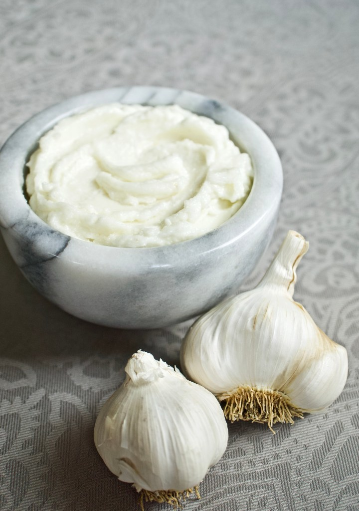 Fresh Garlic Paste