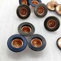 Fashion Customize Metal Alloy Jeans Button for Jeans/ Trousers Jacket Pants / Denim Jacket /Garment Accessories HD013-19