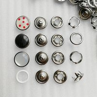 10mm Metal Brass Snap Button for Shirt/Clothing/Jeans HD333