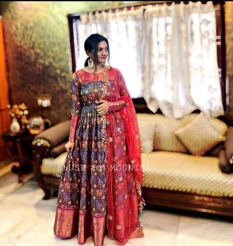 Heavy Long Designer Gown