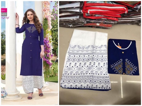 Designer Kurti with Plazzo and pant pair