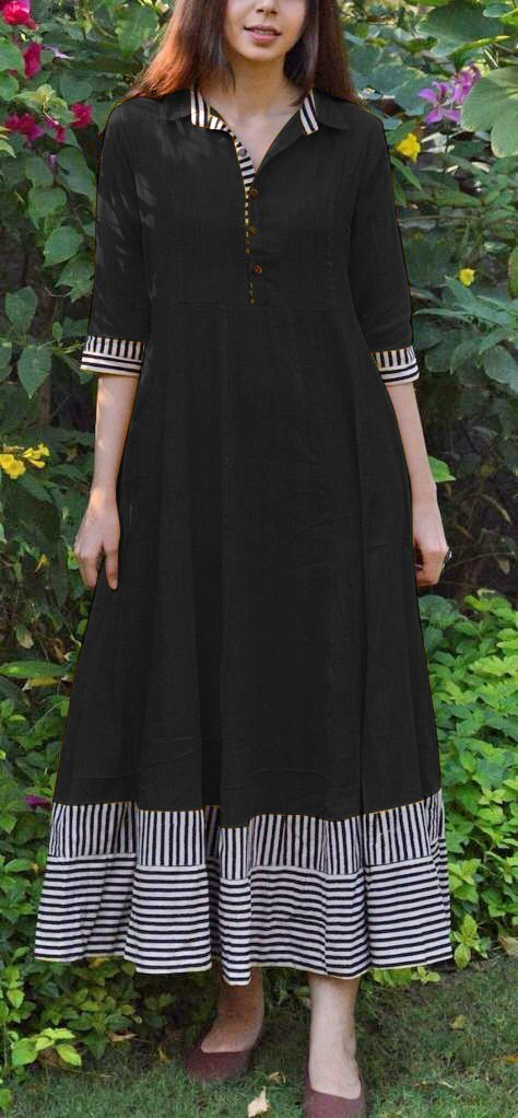 Fancy Collar Kurti