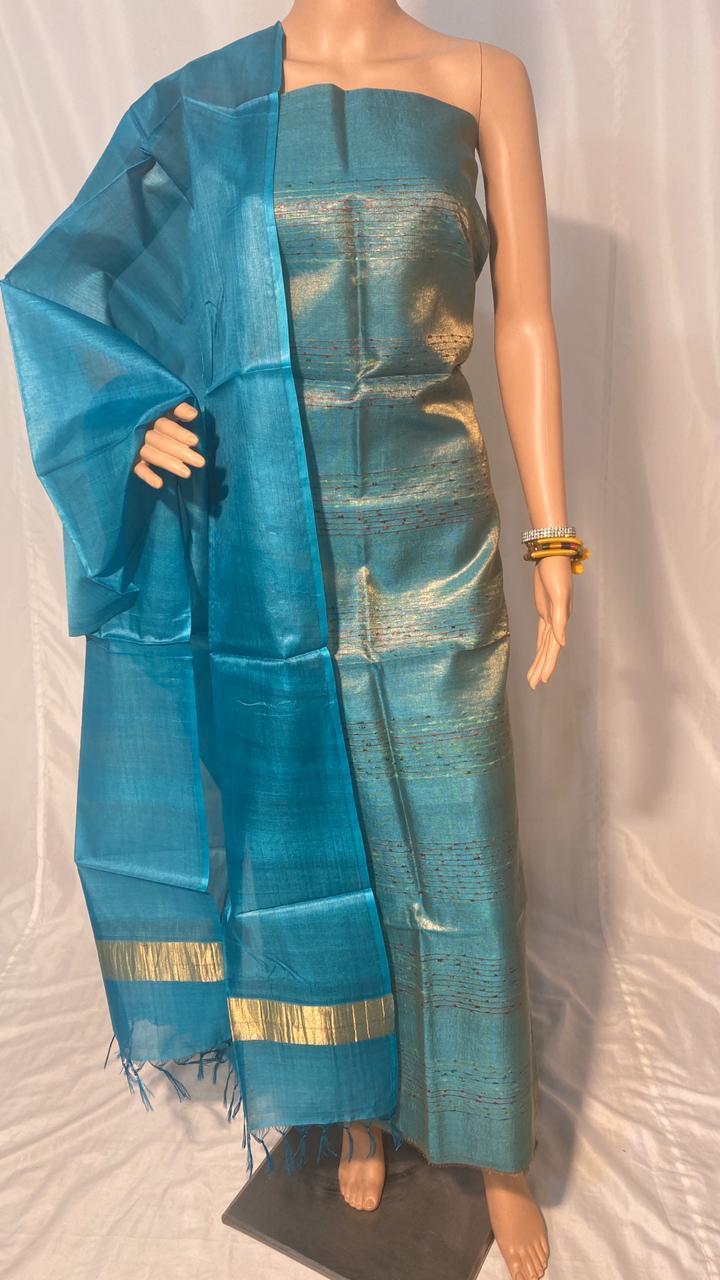 Silk Plain Long Dupatta