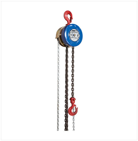 Indef P Triple Spur Gear Chain Pulley Block
