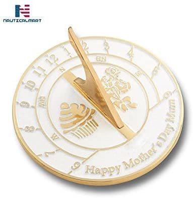 NAUTICALMART Sundial Gift Heavy Duty Cast Brass Sundial Gift Handmade (Mother's Day)