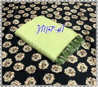Chanderi silk with zalar