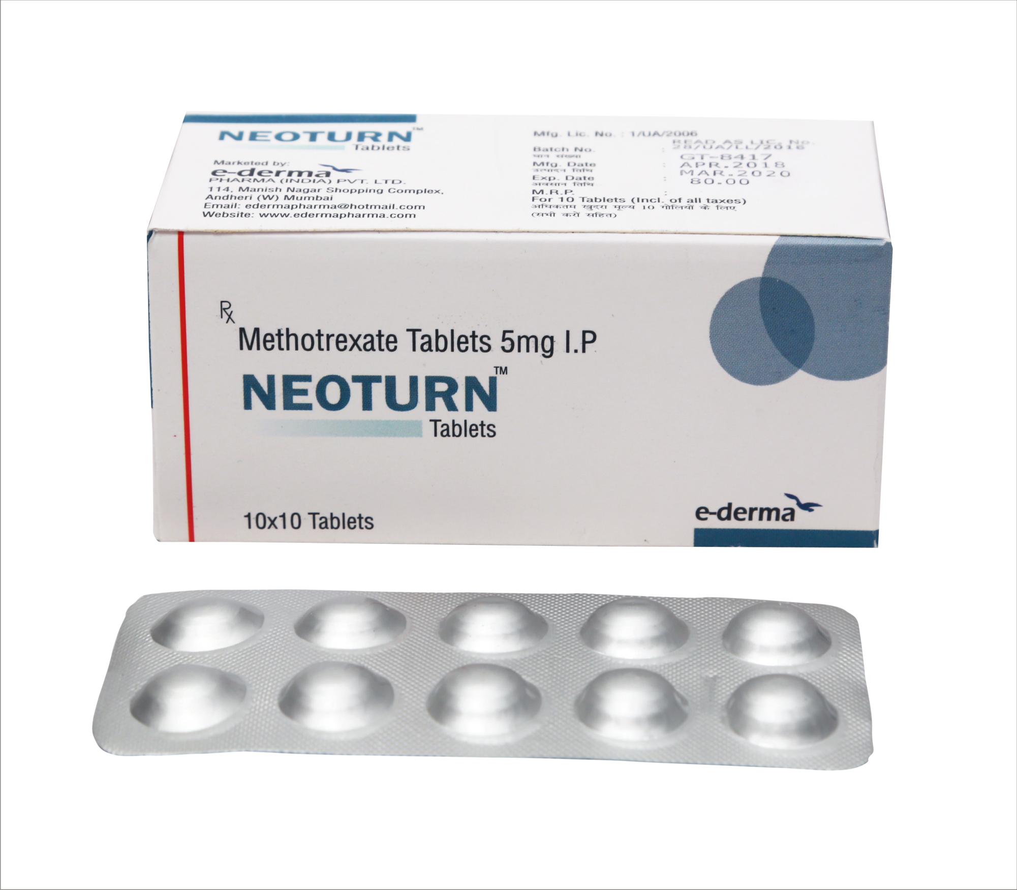 Immunosuppressant Tablets