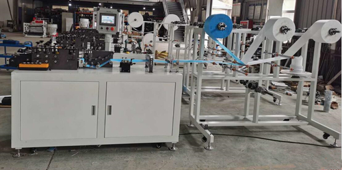 Semi-Auto Flat Mask Making Machine