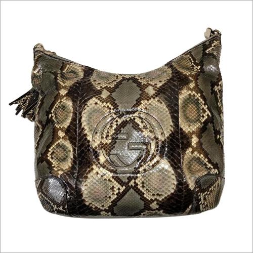 Gucci Python Front Handbags
