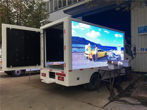 Mobile VAN LED Screen