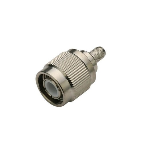 TNC Connector Crimping Type Male Straight For Cable RG316