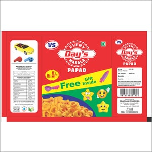 Papad Packing Cover
