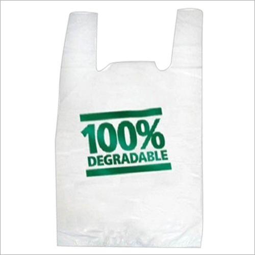 Oxo-Biodegradable Printed Plastic Bag