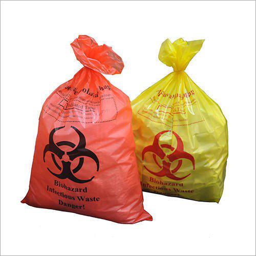 Biohazard Plastic Bags