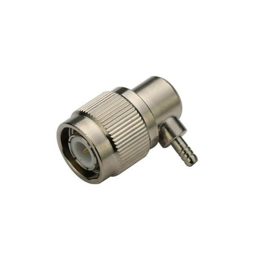 TNC Connector Right Angle Male Crimp Type For Cable RG316