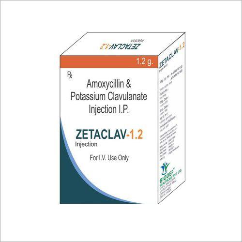 Amoxicillin And Potassium Clavulanate Injection IP