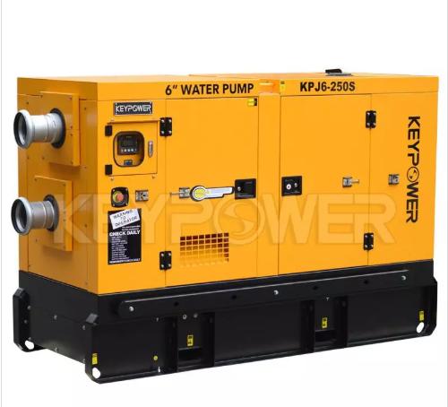 "6"" Self-Priming Pump Set Technical Data Sheet For Water Pump Sets"