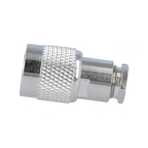 TNC Male Plug Straight 50Ω Soldering Clamp For Cable