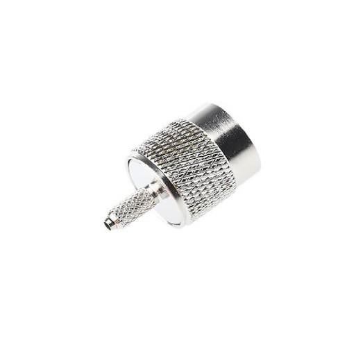 TNC Plug Male Straight 50Ω Cable Mount TNC Plug Crimp Termination For RG174