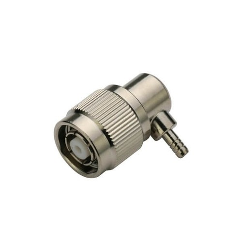 TNC Plug Right Angled RP Crimp Type For Cable RG316