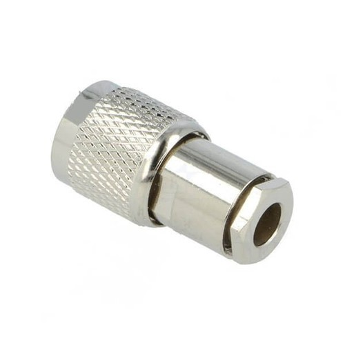 TNC Plug Straight Screw Terminal For Cable RG58