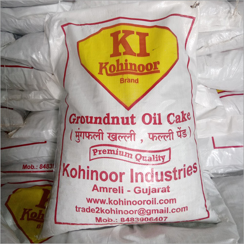 Packed Groundnut Oil Cake