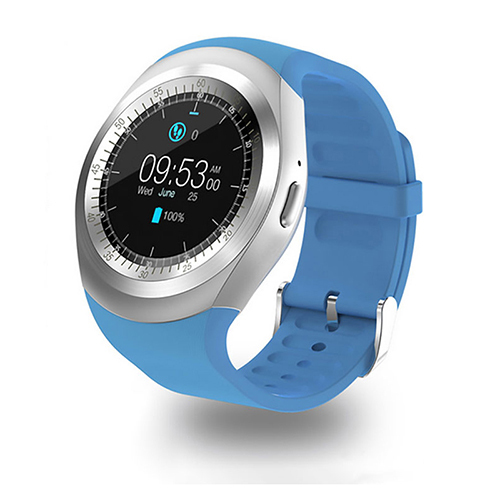 pTron Hue Bluetooth Smartwatch with SIM Slot, Pedometer & Remote Camera