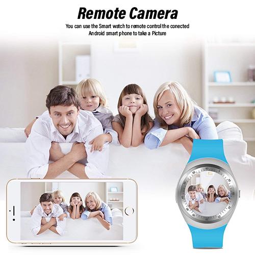 pTron Hue Bluetooth Smartwatch with SIM Slot, Pedometer & Remote Camera