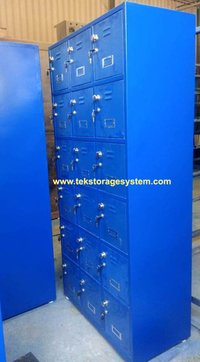 Industrial Worker Locker With Inbuilt Lock