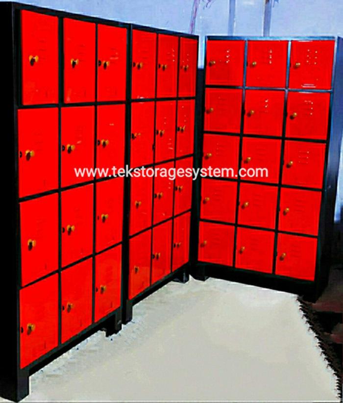 Industrial Worker Locker With Inbuilt Lock