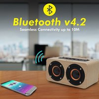 pTron Quinto 10W Bluetooth Speaker, Wireless Portable Speaker with Mic