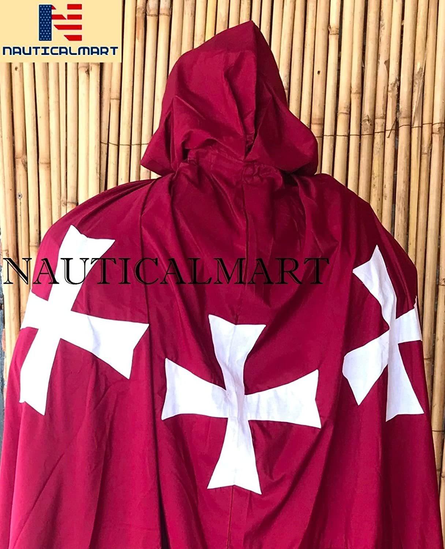NauticalMart Templar Knight Suit of Armor W/Tunic Wearable Halloween Costume