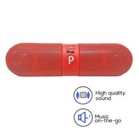 pTron Streak 3W Pill Bluetooth Speaker with Mic, Call & Music Control