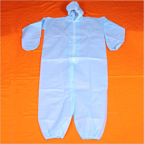 PPE Blue Disposable Overall