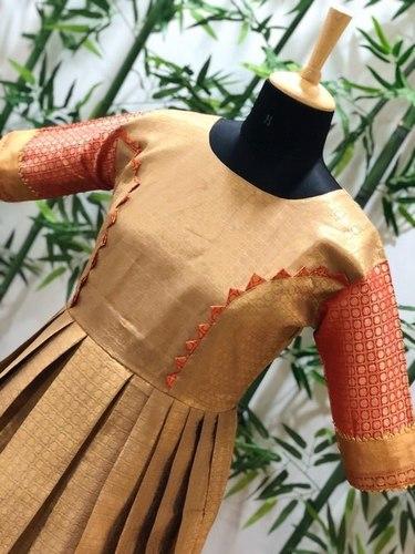 Fancy Silk Long Gown