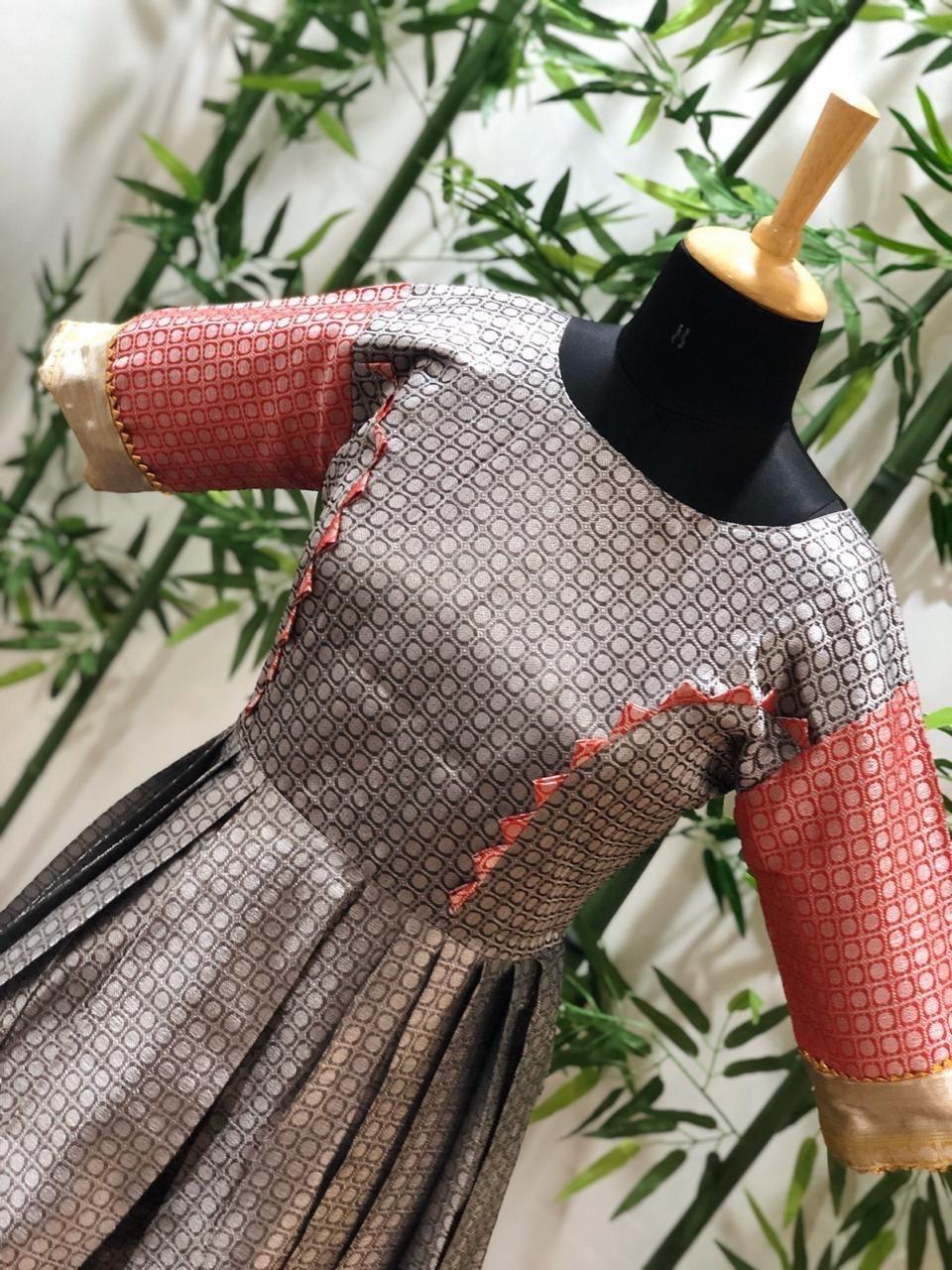 Fancy Silk Long Kurti