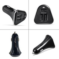 pTron Bullet 3.1A 3-USB Compact Fast Charging Universal Car Charger