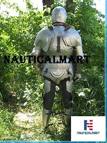 NauticalMart Medieval Armour Wearable Knight Full Suit of Armor