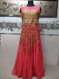 Heavy Designer Net Gown