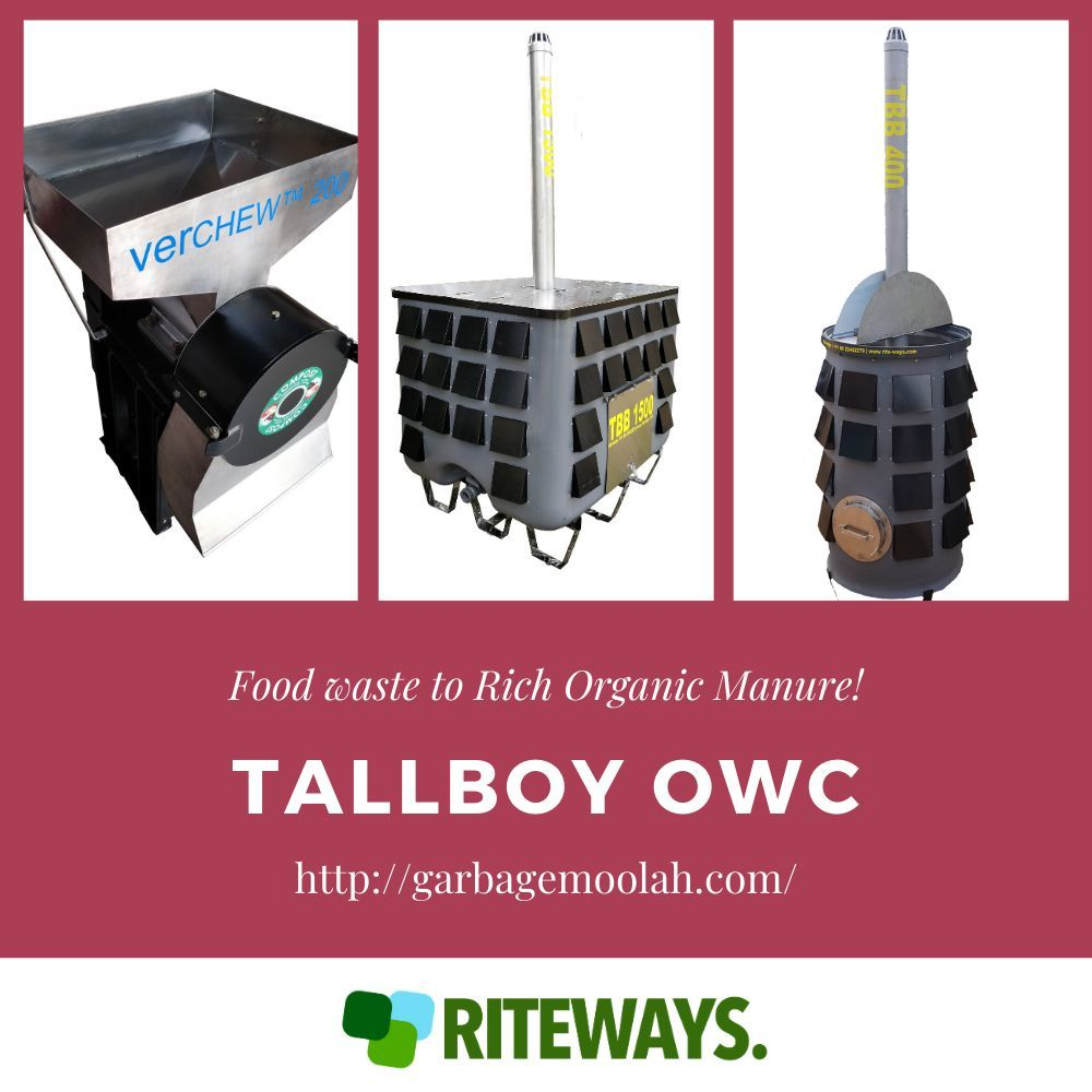 Tallboy Organic Waste Composter