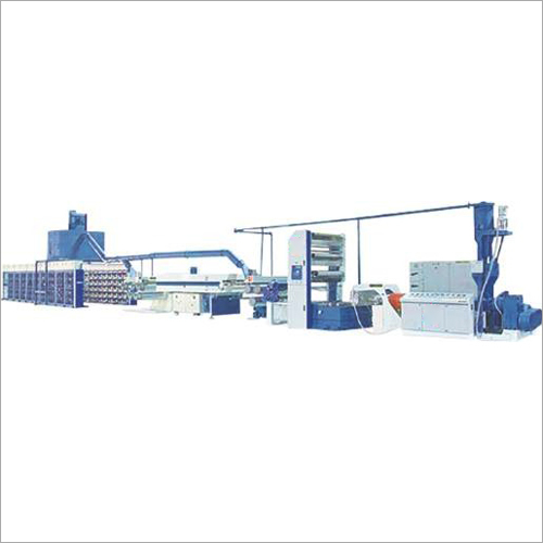 Raffia Tape Line Extrusion Machine