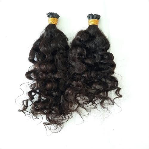 I Tip Curly Human Hair